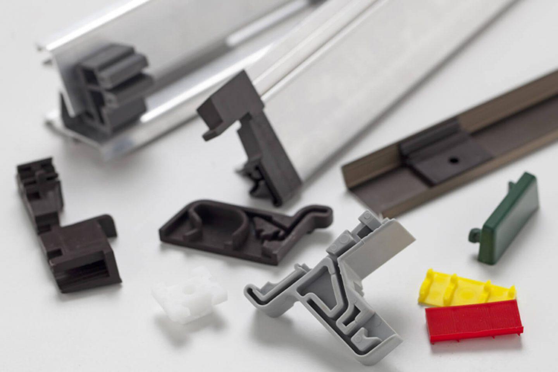Technische Teile Fensterindustrie