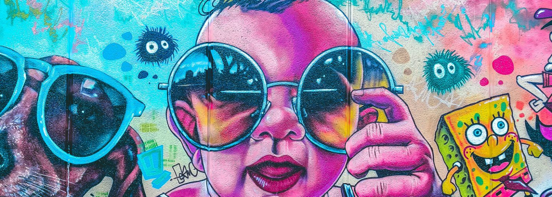 Lehrling Grafiti